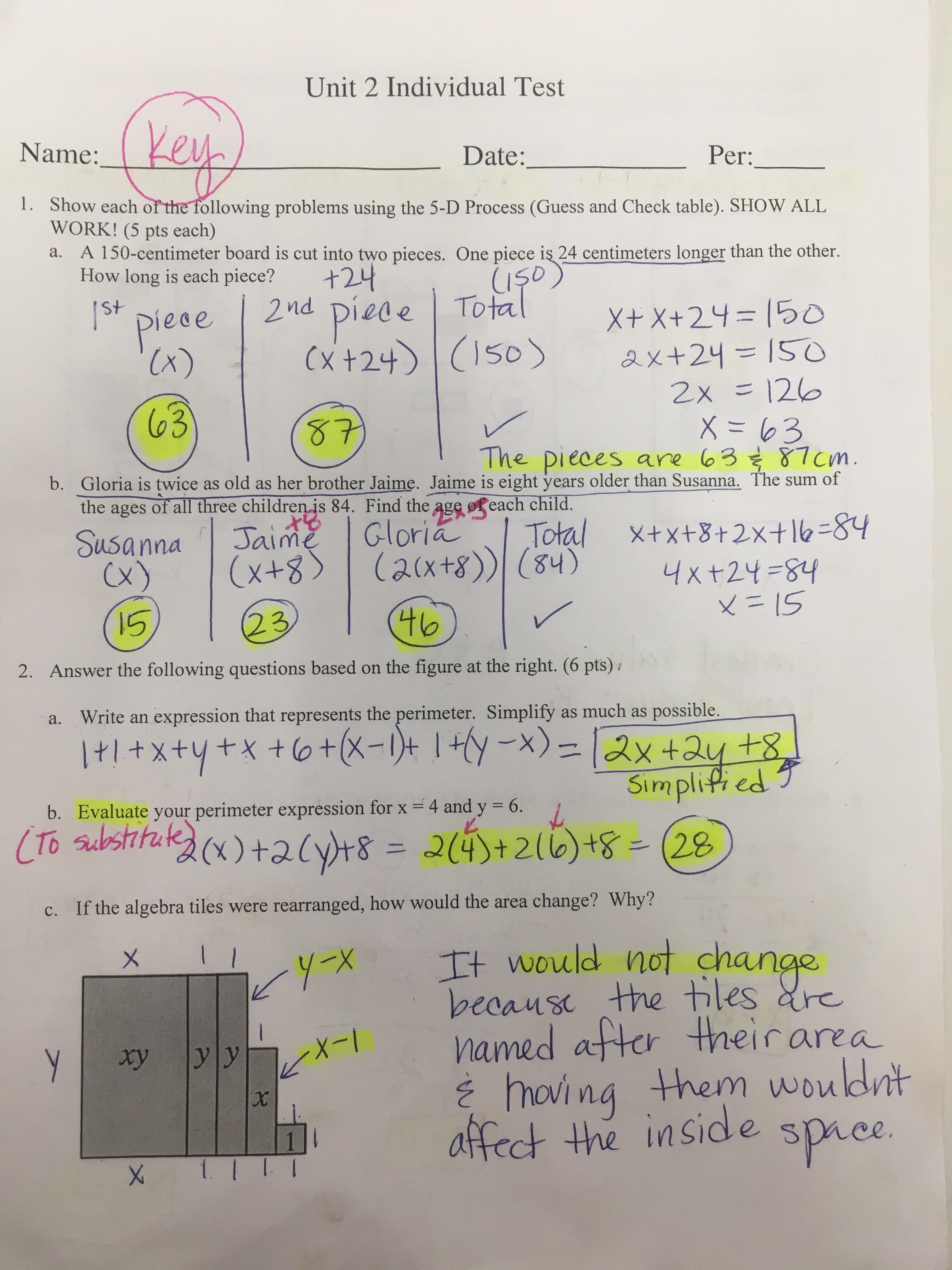 100 Algebra Tiles Worksheets 7th Grade – Algebra Tiles Worksheets
